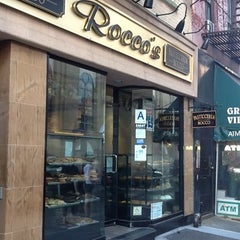 Photo taken at Pasticceria Rocco - Pastry Shop and Espresso Cafe by Lisa S. on 6/6/2012