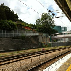 Photo taken at MTR Sha Tin Station 沙田站 by dindin on 7/16/2012