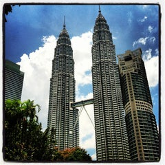 Photo taken at Kuala Lumpur City Centre (KLCC) Park by Sol B. on 9/7/2012