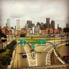 Photo taken at MBTA World Trade Center Station by Yeipí J. on 8/12/2012