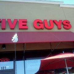 Photo taken at Five Guys by Chaniqua on 3/2/2012