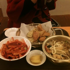 Photo taken at 국대떡볶이 by Sean J. on 2/14/2012