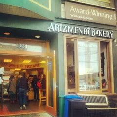 Photo taken at Arizmendi Bakery by Mandi B. on 7/27/2012