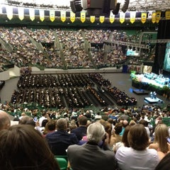 Photo taken at Ferrell Center by Gabby C. on 5/11/2012