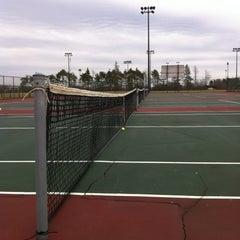 Photo taken at UB Alumni Arena Tennis Courts by Jan W. on 3/12/2012