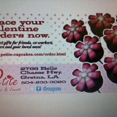 Photo taken at Petite Cupcakes and Events by Petite C. on 7/23/2012