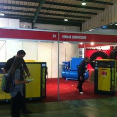Photo taken at Nasrec Expo Centre by ömer O. on 9/9/2012