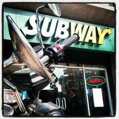 Photo taken at Subway by Claudio G. on 4/25/2012