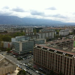Photo taken at International Telecommunication Union by Emaehl on 4/13/2012
