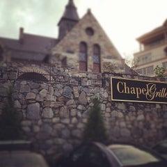 Photo taken at Chapel Grille by Joe P. on 8/11/2012