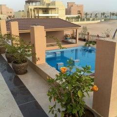 Photo taken at Al Hamra Village by Nahid . on 5/11/2012