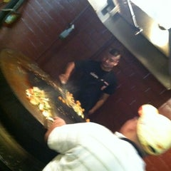 Photo taken at Mongolian Grill San Jacinto by Jacob A. on 3/11/2012