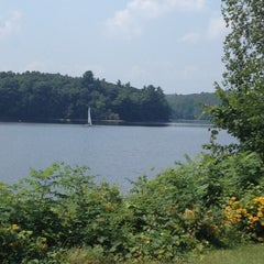 Photo taken at Hopkinton State Park by Tracey H. on 8/4/2012