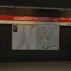 Photo taken at MBTA Ashmont/Peabody Square Station by French C. on 2/9/2012