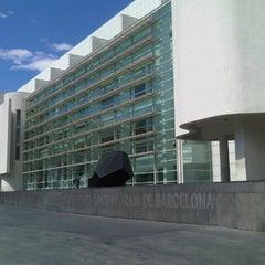 Photo taken at Museu d'Art Contemporani de Barcelona (MACBA) by Daniel M. on 9/2/2012