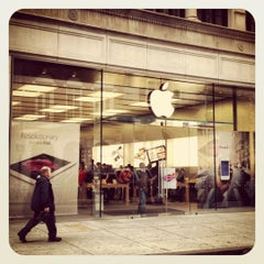 Photo taken at Apple Store, Walnut Street by Tan T. on 5/2/2012
