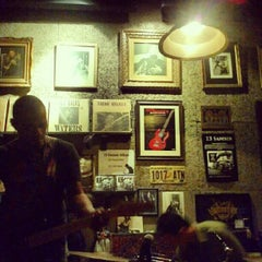 Photo taken at Adhere the 13th Blues Bar by Pawenaporn F. on 7/12/2012