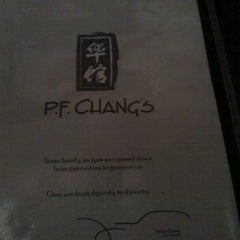 Photo taken at P.F. Chang's by Hiromi I. on 4/29/2012