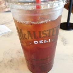 Photo taken at McAlister's Deli by Kelsey L. on 6/8/2012