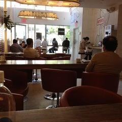 Photo taken at Aroma Espresso Bar by Rachel W. on 5/17/2012