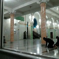 Photo taken at Masjid Agung Darul Falah by Zha C. on 8/17/2012