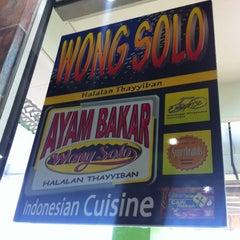 Photo taken at Ayam Bakar Wong Solo by Jim O. on 6/15/2012