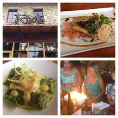 Photo taken at Roots Restaurant and Cellar by Sugar J. on 7/18/2012