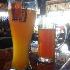 Photo taken at Gordon Biersch Brewery Restaurant by Leonie M. on 4/17/2012