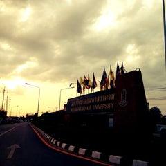 Photo taken at มหาวิทยาลัยมหาสารคาม (Mahasarakham University) by Teerapat on 6/3/2012