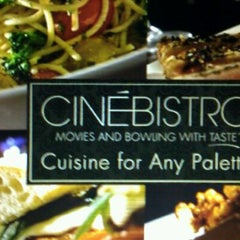 Photo taken at CinéBistro at Peninsula Town Center by Michael S. on 4/22/2012