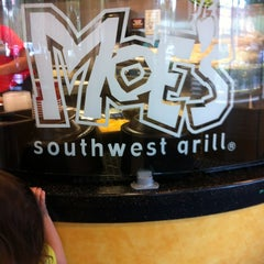 Photo taken at Moe's Southwest Grill by Jessica P. on 3/4/2012