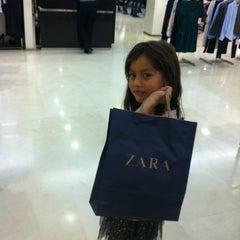Photo taken at Zara by Sara L. on 9/1/2012