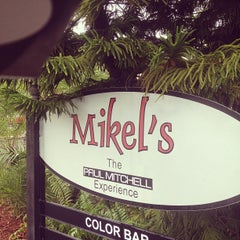 Photo taken at Mikel's Paul Mitchell  Experience by Benjamin J. on 8/22/2012