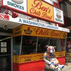 Photo taken at Ben's Chili Bowl by Lars S. on 7/12/2012