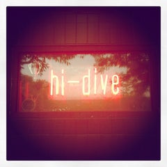 Photo taken at Hi-Dive by Ben D. on 5/20/2012