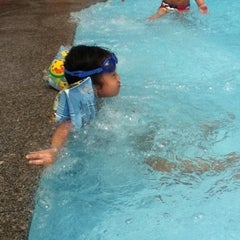 Photo taken at 33 Pham Ngu Lao Swimming Pool by Jolie L. on 6/17/2012