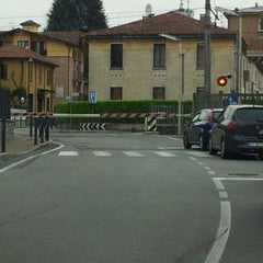 Photo taken at Stazione Portichetto Luisago by Paco L. on 5/8/2012