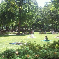Photo taken at Rittenhouse Square by Ariane D. on 6/16/2012
