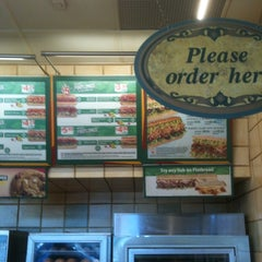 Photo taken at SUBWAY by Marvin on 9/1/2012