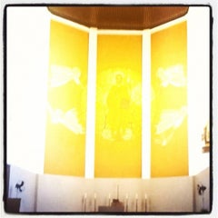 Photo taken at Catedral Santa Teresinha by Jam M. on 3/8/2012