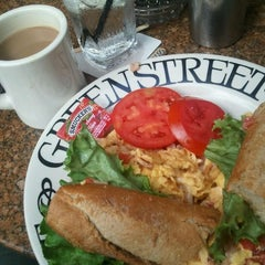 Photo taken at Greenstreet Cafe by Angel L. on 2/3/2012