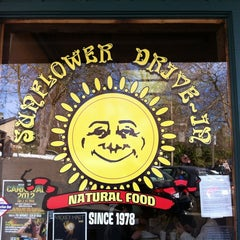 Photo taken at Sunflower Natural Foods Drive-In by beau on 2/25/2012
