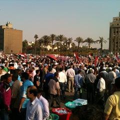 Photo taken at Tahrir Square   ميدان التحرير by Hussein M. on 6/5/2012