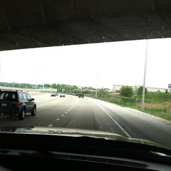 Photo taken at Ronald Reagan Memorial Highway by Charity T. on 5/5/2012