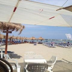 Photo taken at Villa Rosa - Bar Beach & Restaurant by Ilaria B. on 8/3/2012