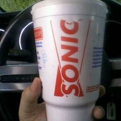 Photo taken at SONIC Drive In by Michael P. on 6/25/2012