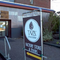 Photo taken at Taza Chocolate by Seth B. on 3/23/2012