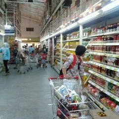 Photo taken at Indogrosir by Thomas N. on 8/23/2012