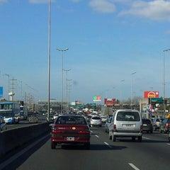 Photo taken at Autopista Ingeniero Pascual Palazzo (Autopista Ruta Panamericana) by Gabi M. on 7/14/2012