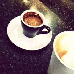 Photo taken at Blue State Coffee by dana a. on 4/12/2012
